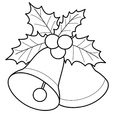 Mistletoe Coloring Page 1