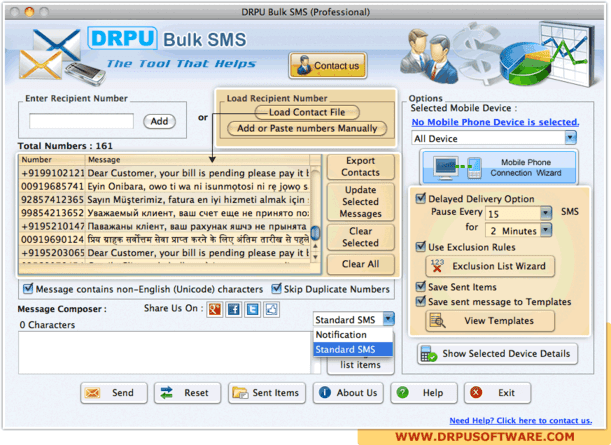 DRPU Mac Bulk SMS Software Discount Coupon