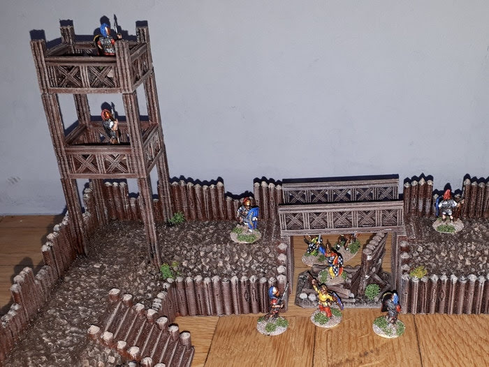 10mm Wargaming: Project Update #5: 3D Printable Roman Fort