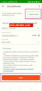 3 Cara Isi Saldo Mandiri e-Money Dari Aplikasi Tokopedia Di Hp Android