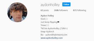 Aydon Holley Instagram