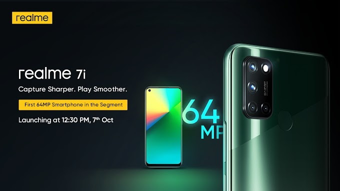 Realme 7i price in India, specs features launch date in india