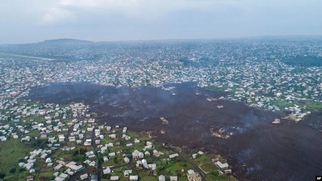 Pasca Letusan Gunung, Sejumlah Anak di Kongo Hilang