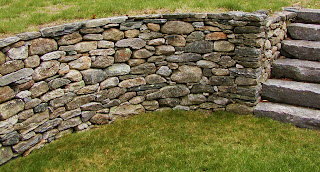 Building a Drystone Wall.