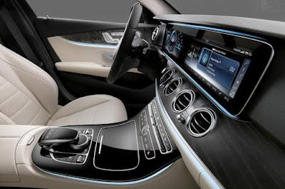 Mercedes-Benz E-Class interior hd image