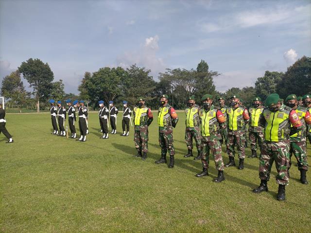 Operasi Ketupat Toba Tahun 2021 Dilakukan Personel Jajaran Kodim 0207/Simalungun