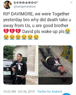 Kelechi Iheanacho Personal Assistant, David Is Dead (photo)