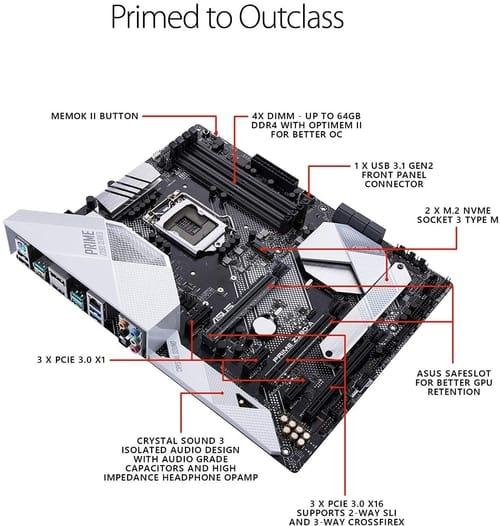 Review Asus Prime Z390-A LGA1151 Motherboard