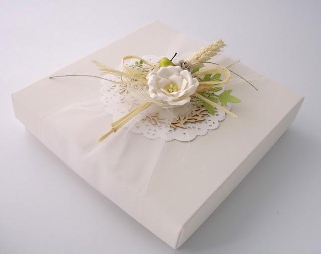 Kartka ślubna ręcznie robiona