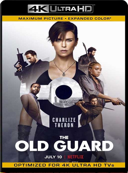 La Vieja Guardia (The Old Guard) (2020) 4K 2160p UHD [HDR] Latino [GoogleDrive]