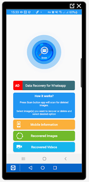 PhotoRecovery App - Recover Deleted Photos