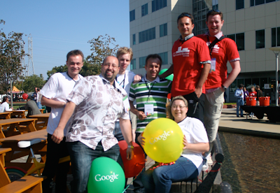 Saying thanks—in person—to our Google Top Contributors