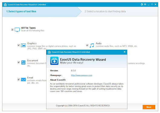 EaseUS Data Recovery Wizard 8.5 With Crack | SKULL BOXS