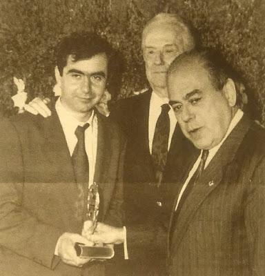 Antonio Muñoz Molina, José Manuel Lara y... Baby Yoda  :-D
