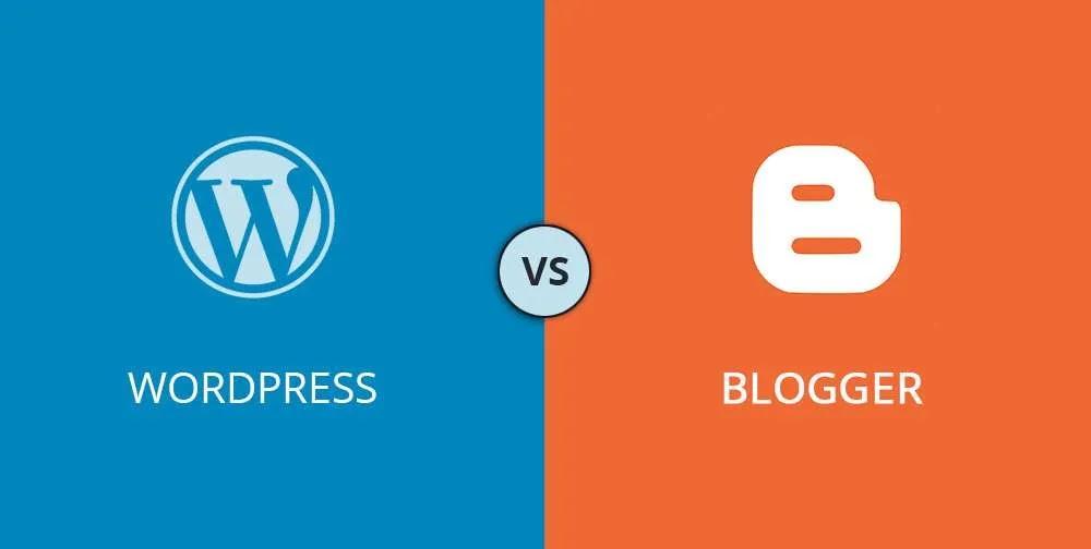مقارنة بين WordPress و Blogger - أيهما أفضل؟ (إيجابيات وسلبيات)