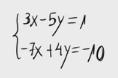 14 Sistema de ecuaciones por método de reducción