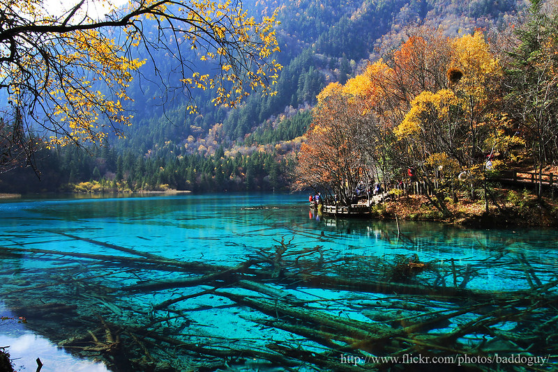 Jiuzhaigou national park China