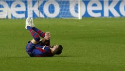 Pique starts training and Koeman hopes to have him for El Clasico