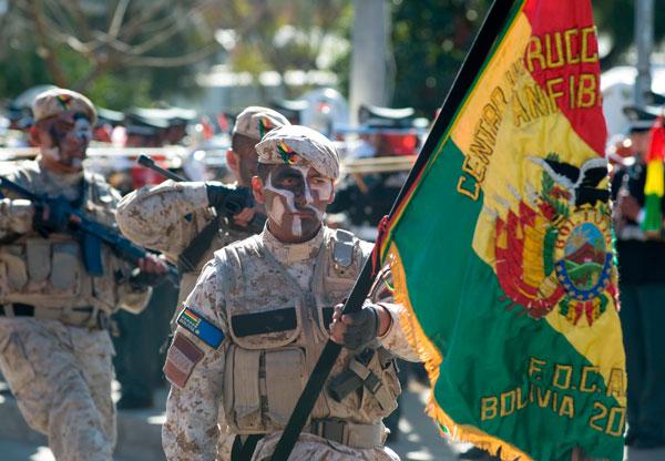 En Vivo Para Militar Día de las Fuerzas Armadas Bolivia