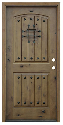 image result for Pacific Entries rustic alder exterior door speakeasy