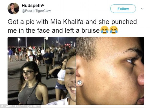 This Guy Received a 'Blow' From Ex-P*rnstar Mia Khalifa Which He Will Never Forget! Find out What She Did to Him Here!