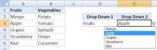 How to Create a Multiple Dependent Drop Down List in Excel in Hindi