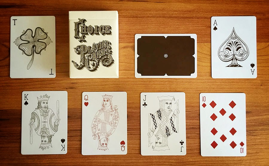 Deck View Choice Playing Cards