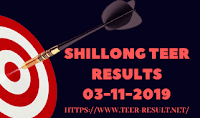 Shillong Teer Results Today-03-11-2019