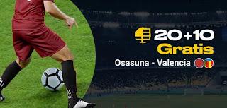 bwin promocion liga Osasuna vs Valencia 27-10-2019