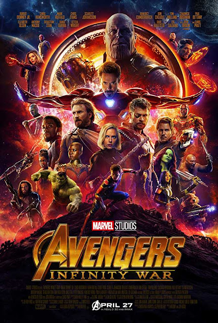 Poster Avengers Infinity War 2018 Full Movie Download Dual Audio Hindi Dubbed