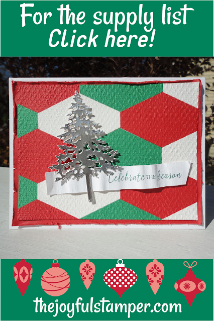 christmas, tailored tag punch, pine woods dies, itty bitty christmas, tasteful textiles 3d embossing folder, cardmaking, learn to stamp, how to stamp, how to make cards,  learn to make cards, stampin' up!, nicole steele, independent stampin' up! demonstrator, pittsburgh pa, the joyful stamper