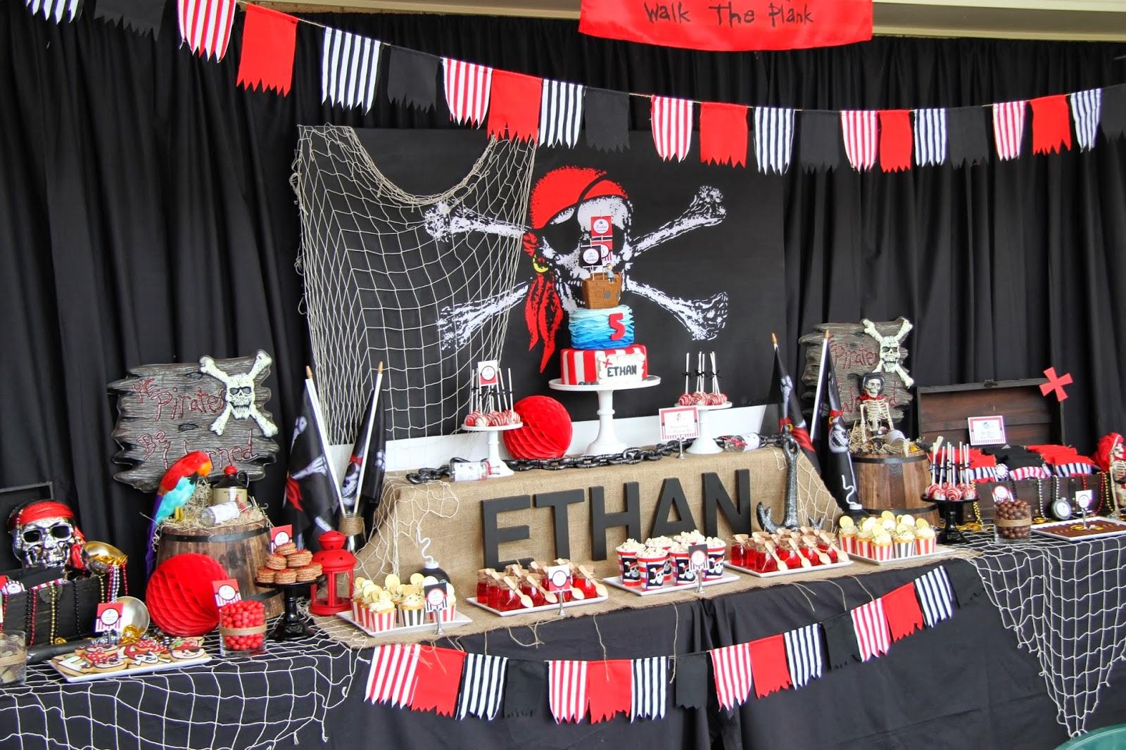 Pirate Ship Birthday Cake Images