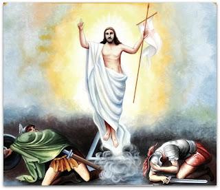 Ressurreição de Jesus - Igreja São Roque, Faxinal do Soturno (RS)