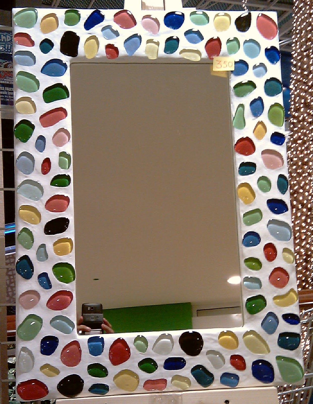 Wall Mirror Photo Frames Decorated With Gl Mosaic