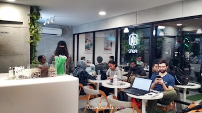 Fore Coffee, Online Coffee Shop, Kopi Specialty, Review Fore Coffee, Pengalaman membeli kopi di Fore Coffee Bandung Ciwalk Cihampelas Walk, TSM