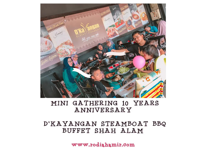 D'Kayangan Steamboat BBQ Buffet Tempat gathering
