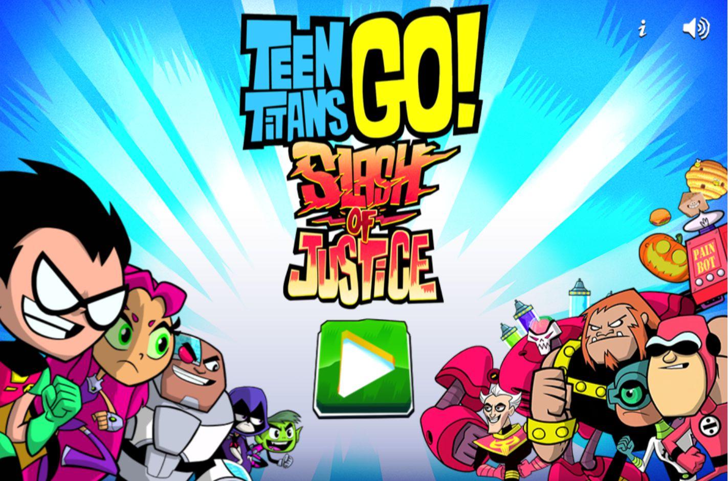 Online Teen Titans Go Games