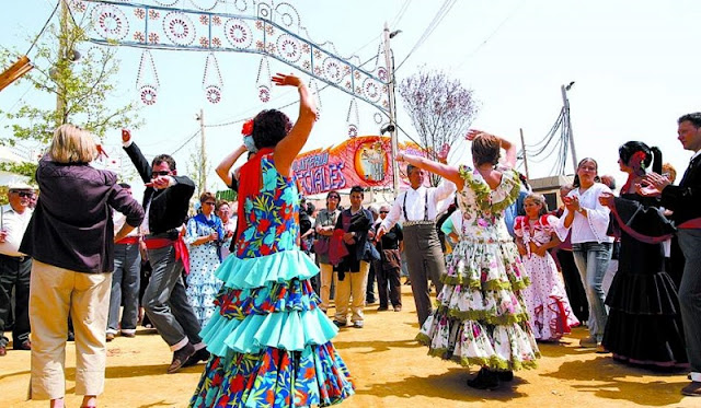 Feria de abril em Barcelona