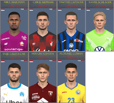 PES 2017 Facepack September 2020 by Mo Ha