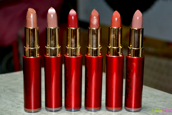 Attiqa Odho Lipsticks Review - Swatches