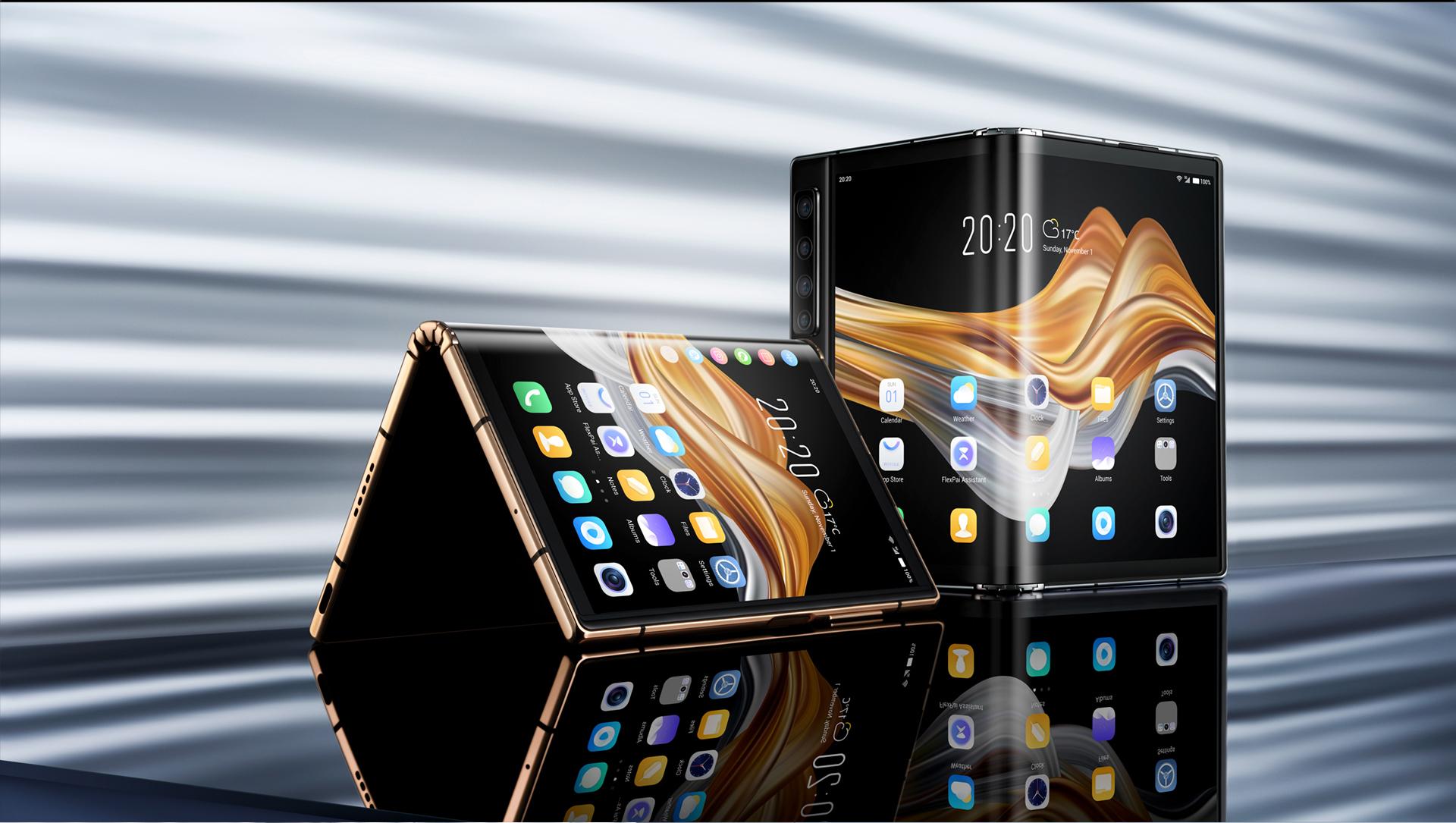 Nuovo Royole FlexPai 2 5G, il primo foldable al mondo diventa grande
