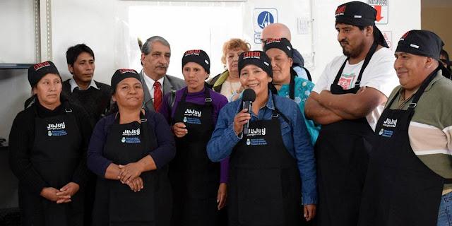 Inauguran una planta procesadora de frutas financiada por el Ministerio de Ambiente
