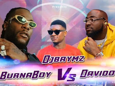 DOWNLOAD MIXTAPE: DjBrymz – Burna Boy vs Davido Mixtape