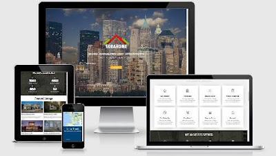 Sora Home, Best Blogger Template Free untuk situs Property