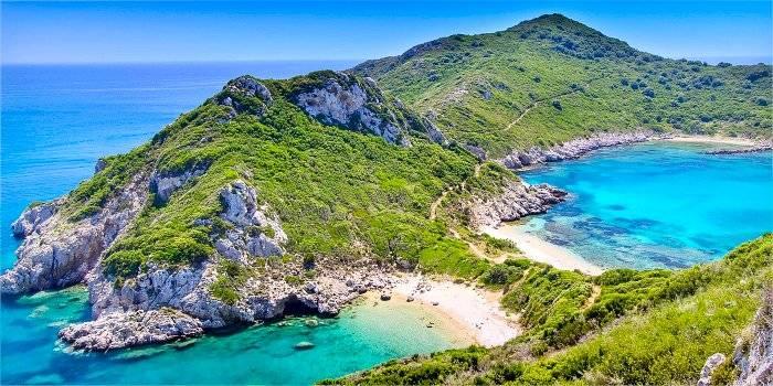 Le spiagge più belle della costa nord-ovest di Corfù