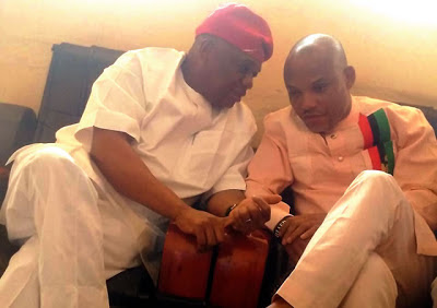 Image result for nnamdi kanu to orji uzor kalu