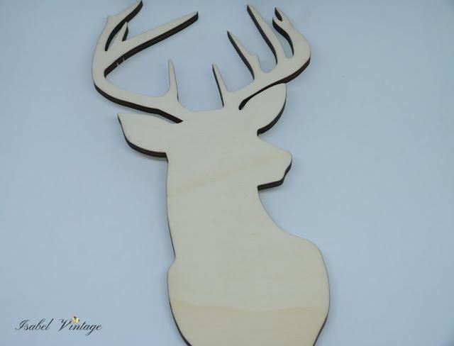 silueta-madera-ciervo