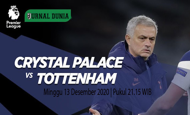 Prediksi Crystal Palace Vs Tottenham Hotspur, Minggu 13 Desember 2020 Pukul 21.15 WIB @ Mola TV