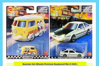 Bocoran Hot Wheels Premium Boulevard Mix D 2020 : Damagenya Gak Kira-kira Gan
