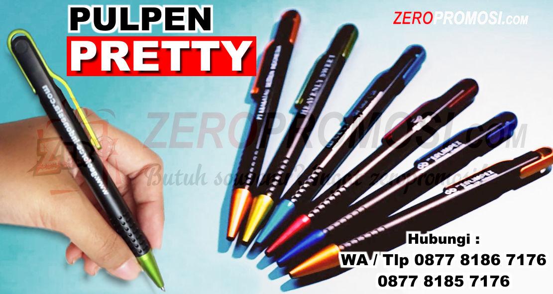 Jual Pulpen plastik Pretty, Souvenir Pen Prety, Pulpen Pretty, Ballpoint Prety Souvenir, PULPEN SOVENIR PROMOSI